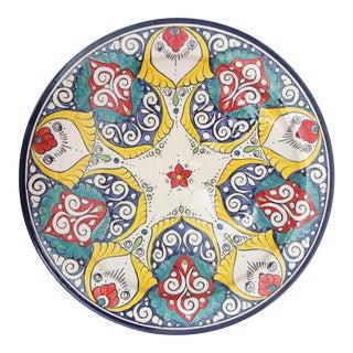 Atlas Moroccan Floral Pedestal Plate