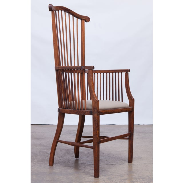 Arts & Crafts Style Spindle Back Armchair - Image 2 of 5