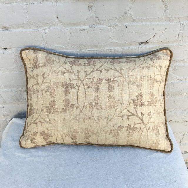 Rose Tarlow Printed Linen Pillow - Image 2 of 5