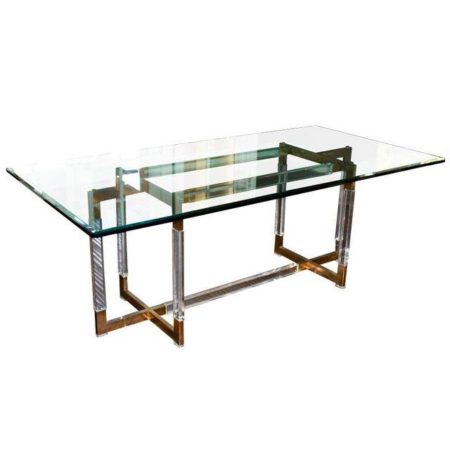 Charles Hollis Jones Metric Dining Table - Image 1 of 4