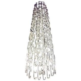 Gino Vistosi 8 ft. Chain Link Murano Glass Chandelier