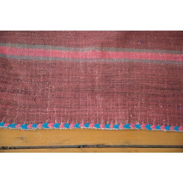 "Vintage Moroccan Kilim Rug Runner - 5' x 11'8"" - Image 4 of 4"