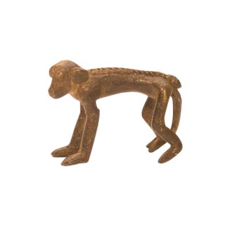 Vintage Bronze Monkey Figure