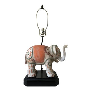 Boho Chic Elephant Lamp