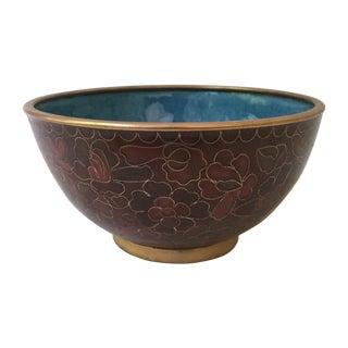 Decorative Cloisonné Bowl