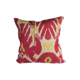 Antique Ikat/Russian Tradecloth Pillow