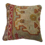 Image of Antique Oushak Rug Pillow