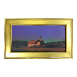 """Chapel on the Pond, North Truro"" Painting"