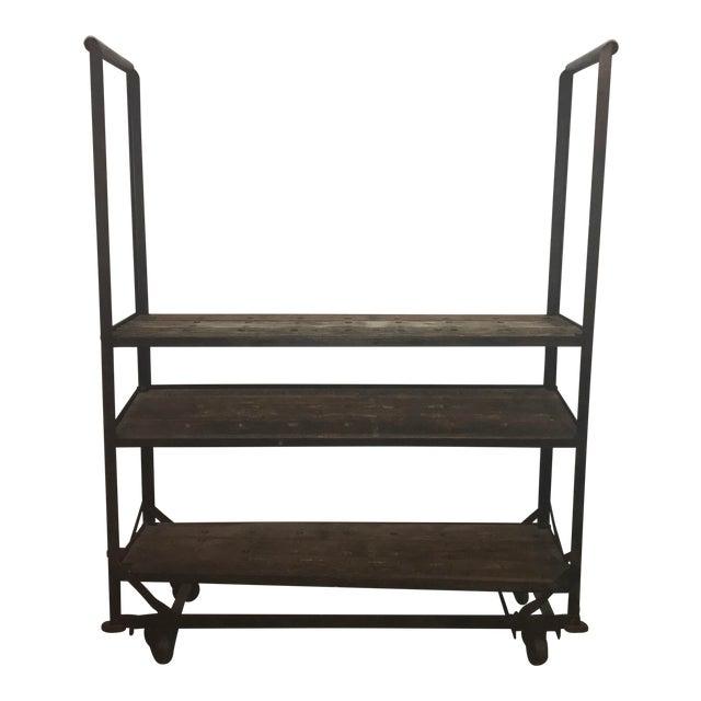 Antique Industrial Cobblers Shoe Rack Shelving Unit - Image 1 of 11