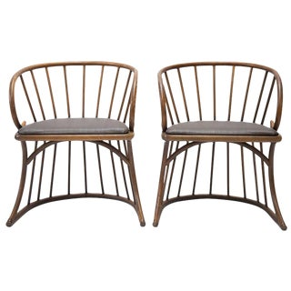 Mid Century Bentwood Chairs - a Pair