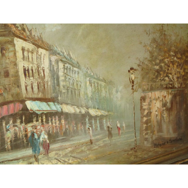French Neo Impressionist Antoine Blanchard Oil on Canvas - Image 5 of 11