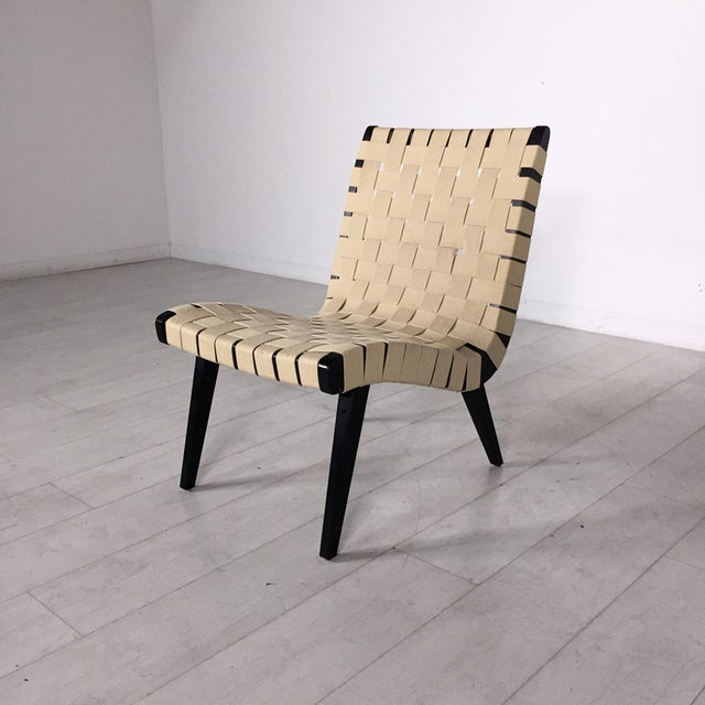Authentic Knoll Risom Lounge Chair Chairish