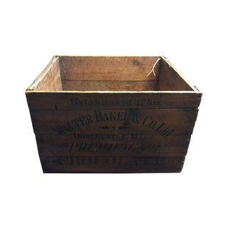 Baker's Chocolate Crate
