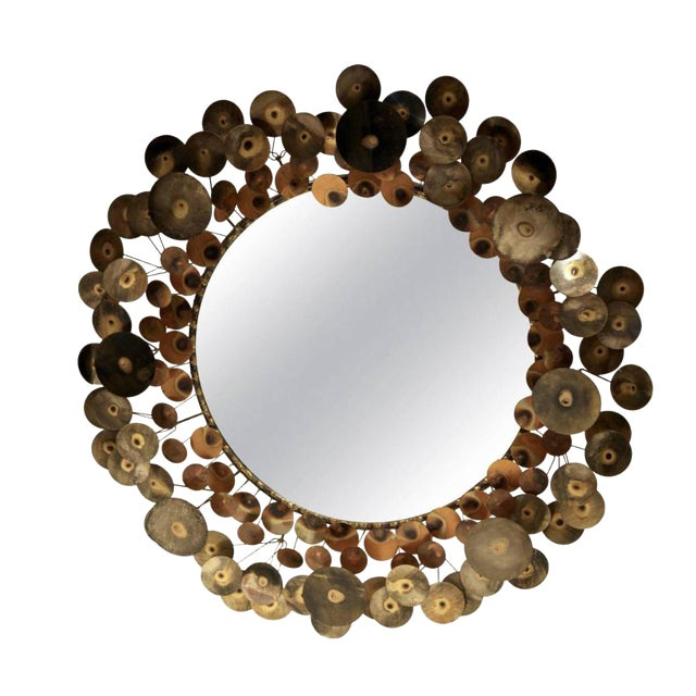After Curtis Jere Raindrop Mirror - Image 1 of 3
