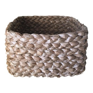 Braided Square Rope Basket
