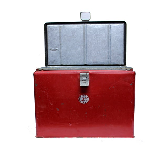 Vintage Industrial Icy Hot Cooler - Image 3 of 4