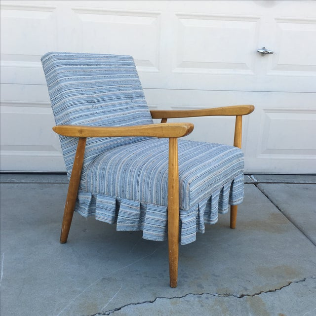 Mid Century Modern Danish Style Lounge Chair - Image 2 of 6