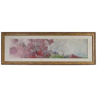 Chen Chi - Summertime, Watercolor 1958, Signed and Stamped