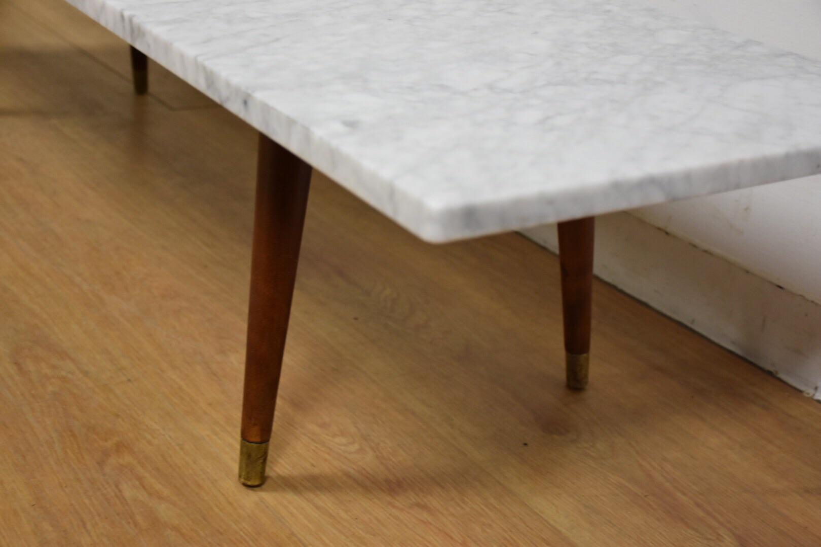 Mid Century Modern Italian Marble Coffee Table   Image 4 Of 11