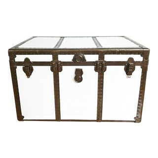 Vintage Steamer Trunk Table