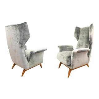 Cassina Lounge Chairs, Italy, 1960s - A Pair