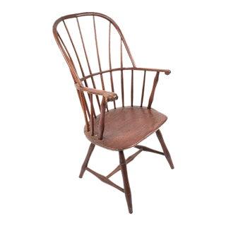Antique American Windsor Armchair