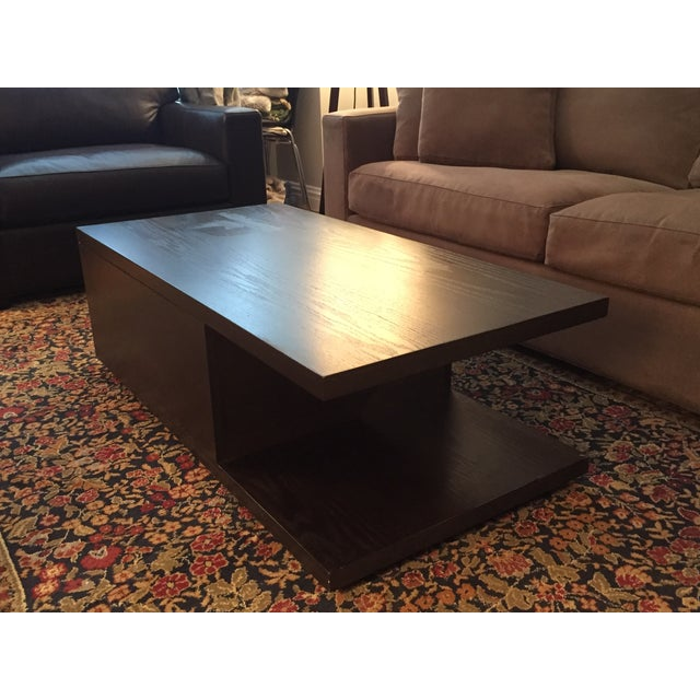 West elm sliding top coffee table chairish for West elm coffee table sale