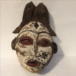 Image of Carved African Tribal Mask