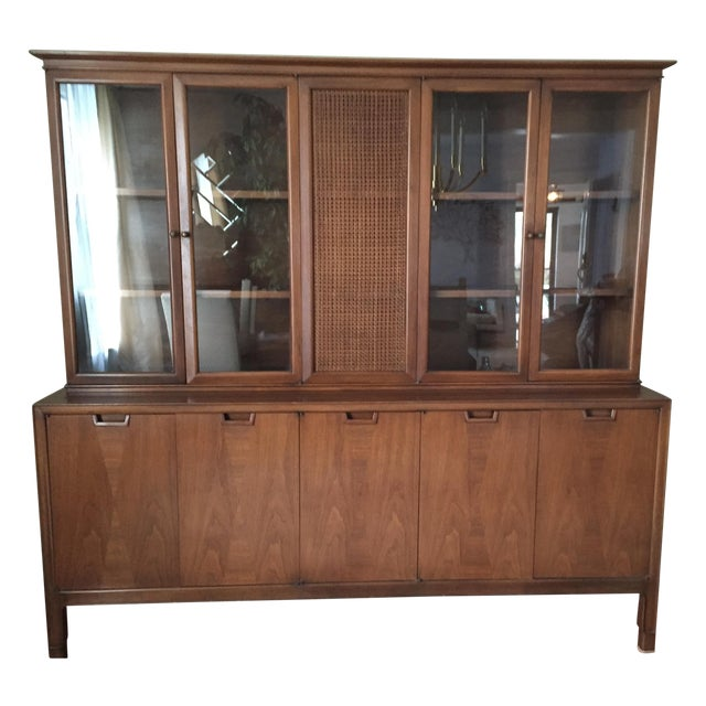 Mid Century John Stuart Credenza China Hutch - Image 1 of 5
