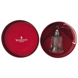 "Jingle Bells! Waterford ""12 Days of Christmas"" Crystal Bell"