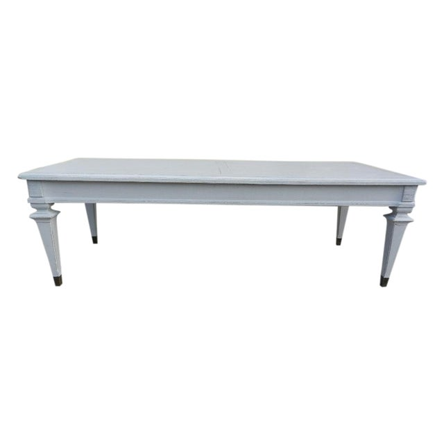 Painted Traditional Style Coffee Table Chairish