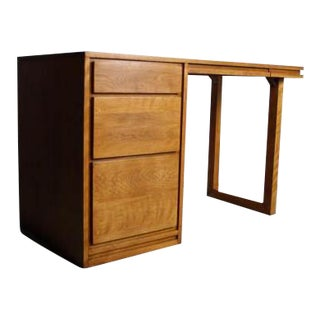 Russel Wright for Conant Ball Mid-Century Modern Birch Desk
