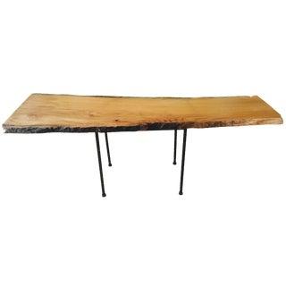 Live Edge Red Oak Coffee Table