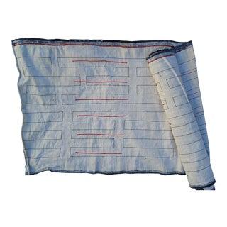 Hmong Homespun Linen Embroidered Roll