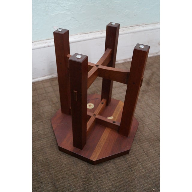 Stickley Mission Style Cherry Side Tables - B Pair - Image 7 of 10