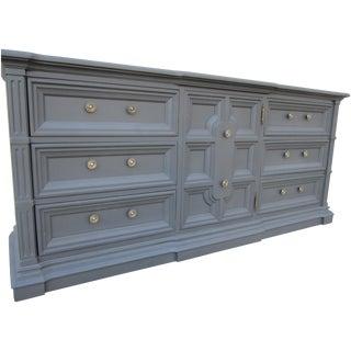 Drexel Mid-Century Modern Gray Dresser