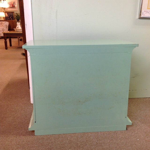 Vintage Painted Wood Side Tables - a Pair - Image 5 of 8