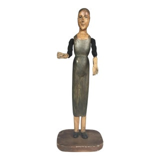Handcarved Wood Articulated Mannequin
