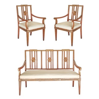 19th Century Russian Neoclassical Three-Piece Set