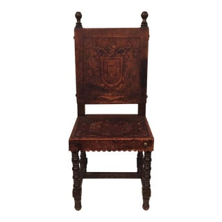 Leather Occasional Chair