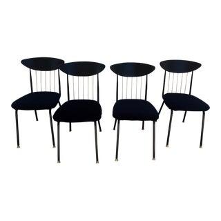 Chromcraft Vintage Atomic Chairs - Set of 4