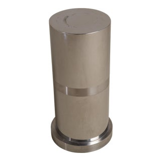 A Laminated Metal Cylindrical Pedestal 1970s
