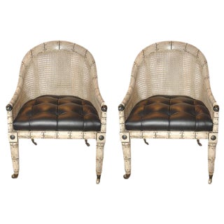 Regency Gondola Chairs - A Pair