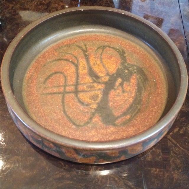 Mid-Century Studio Pottery Bowl - Image 2 of 6