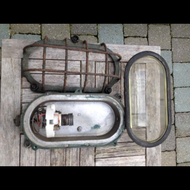 Industrial Explosion Proof Cage Light 1960's - Image 6 of 6