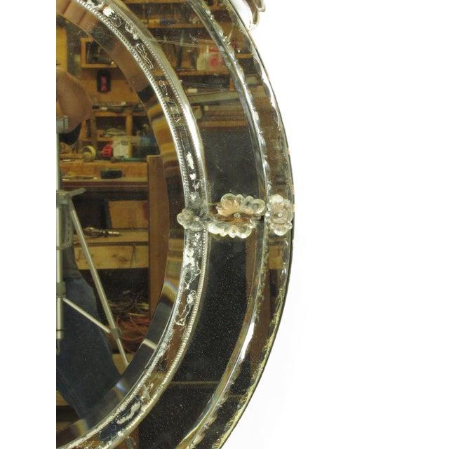 Venetian Cut Glass Wall Mirror - Image 8 of 8