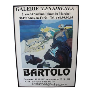 1992 Galerie Les Serine Poster by Bartolo