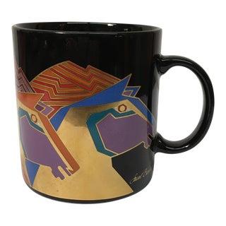 Vintage Laurel Burch Wild Stallions Mug