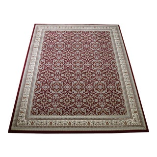 """Seven Hills Traditional Red Rug - 6'8"""" X 9'7"""""""