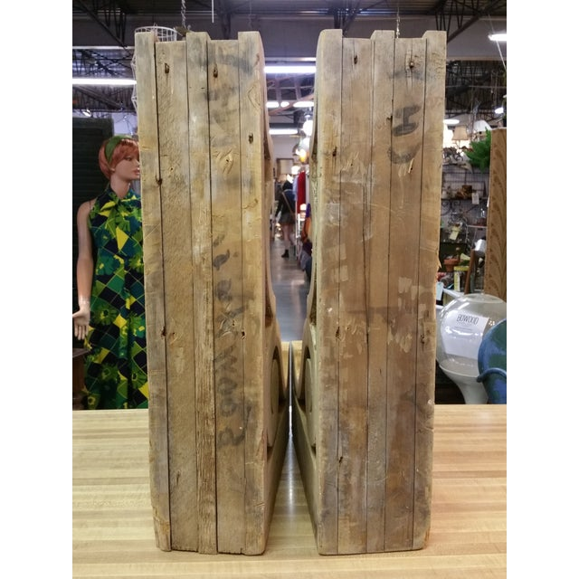 19th Century Antique Wooden Corbels - a Pair - Image 7 of 9
